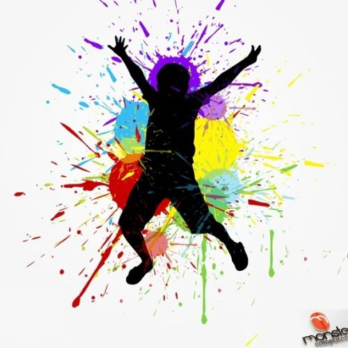 Happy-Kid-Abstract-Background