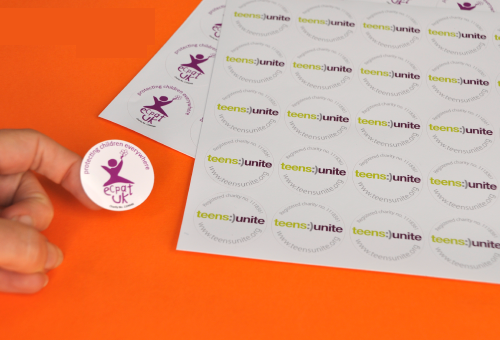 Charity-Lapel-Stickers-printed-on-sheets(2