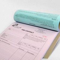 Invoice booklet