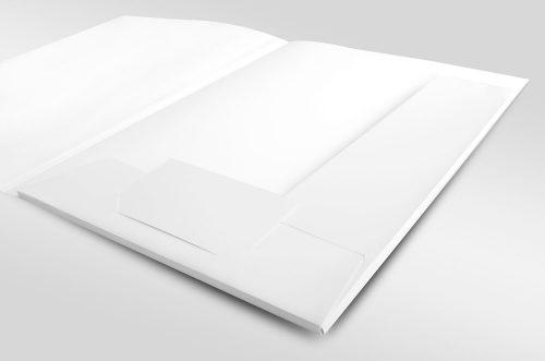 A4-E-Folder pocket L one business card slit