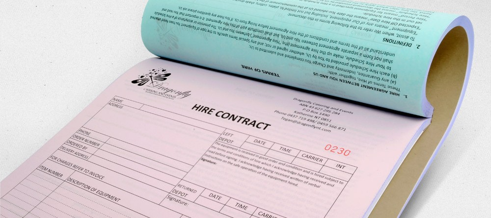 What is an invoice book?